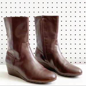Cole Haan   Tali Grand Short Wedge Boots